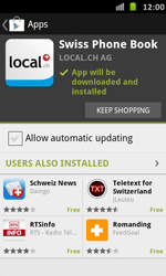 Samsung Galaxy S Advance - Applications - Installing applications - Step 9