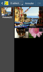 Samsung S7275 Galaxy Ace 3 - MMS - envoi d'images - Étape 17