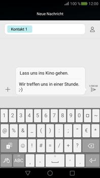 Huawei Mate S - MMS - Erstellen und senden - 1 / 1