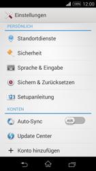 Sony Xperia E3 - Fehlerbehebung - Handy zurücksetzen - 6 / 11