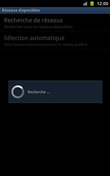 Samsung N7000 Galaxy Note - Réseau - utilisation à l'étranger - Étape 10