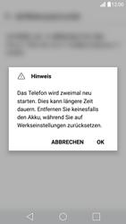 LG G5 - Fehlerbehebung - Handy zurücksetzen - 0 / 0
