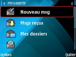 Nokia E71 - SMS - configuration manuelle - Étape 5