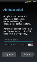 HTC One SV - Applicazioni - Configurazione del negozio applicazioni - Fase 13