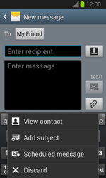 Samsung I8730 Galaxy Express - MMS - Sending pictures - Step 9