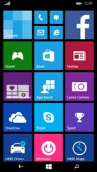 Microsoft Lumia 535 - Rete - Selezione manuale della rete - Fase 1