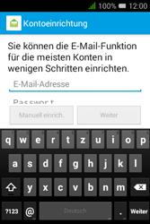 Alcatel OT-4009D Pixi 3 (3.5) - E-Mail - Konto einrichten - Schritt 9