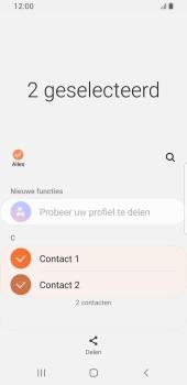 Samsung galaxy-s8-sm-g950f-android-pie - Contacten en data - Contacten overzetten via Bluetooth - Stap 7