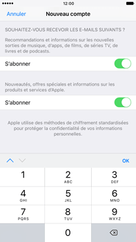 Apple Apple iPhone 6s Plus iOS 10 - Applications - Créer un compte - Étape 16