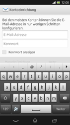 Sony Xperia Z - E-Mail - Manuelle Konfiguration - Schritt 4