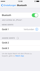 Apple iPhone SE - Bluetooth - Geräte koppeln - 8 / 9