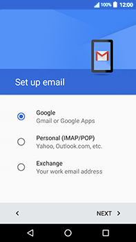 Acer Liquid Zest 4G Plus - E-mail - Manual configuration (gmail) - Step 8