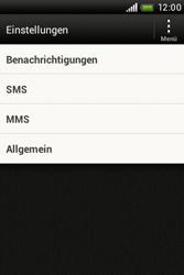 HTC Desire C - SMS - Manuelle Konfiguration - 0 / 0