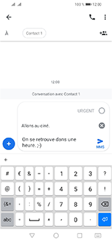 Huawei Y6 (2019) - Contact, Appels, SMS/MMS - Envoyer un MMS - Étape 11
