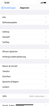 Apple iPhone 11 Pro Max - Software - Installieren von Software-Updates - Schritt 4