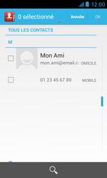 Bouygues Telecom Bs 402 - Contact, Appels, SMS/MMS - Envoyer un SMS - Étape 6