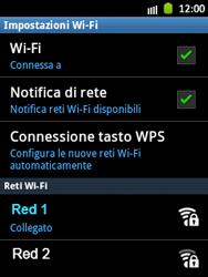 Samsung Galaxy Pocket - WiFi - Configurazione WiFi - Fase 9