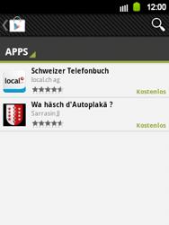 Samsung Galaxy Y - Apps - Installieren von Apps - Schritt 6