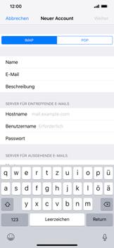 Apple iPhone XR - E-Mail - Konto einrichten - 12 / 30