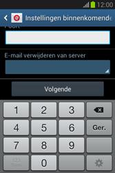 Samsung S6790 Galaxy Fame Lite - e-mail - handmatig instellen - stap 11