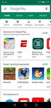 Huawei P20 - Android Pie - Applicazioni - Come verificare la disponibilità di aggiornamenti per l