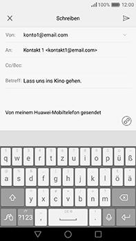 Huawei P9 Plus - E-Mail - E-Mail versenden - 9 / 18