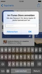 Apple iPhone SE - iOS 10 - Apps - Konto anlegen und einrichten - Schritt 25