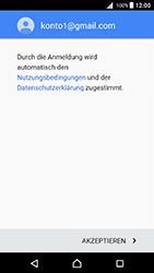 Sony Xperia X - E-Mail - Konto einrichten (gmail) - 0 / 0