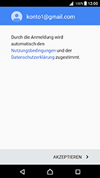 Sony Xperia X (F5121) - Android Nougat - E-Mail - Konto einrichten (gmail) - Schritt 13