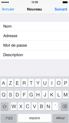 Apple iPhone 5s - E-mail - Configuration manuelle - Étape 10