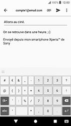 Sony Xperia X Compact - Android Oreo - E-mail - envoyer un e-mail - Étape 9