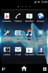 Sony ST21i Xperia Tipo - Netwerk - Handmatig netwerk selecteren - Stap 6
