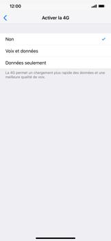 Apple iPhone XR - Internet et connexion - Activer la 4G - Étape 6
