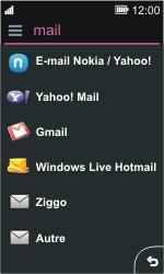 Nokia Asha 311 - E-mail - Configurer l