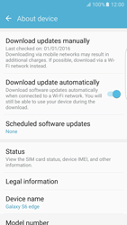 Samsung Samsung G925 Galaxy S6 Edge (Android M) - Device - Software update - Step 6