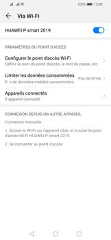 Huawei P Smart (2019) - Internet - comment configurer un point d'accès mobile - Étape 10
