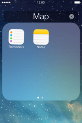 Apple iPhone 4S iOS 7 - Getting started - personalising your Start screen - Step 7