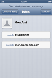 Apple iPhone 4 - iOS 6 - MMS - envoi d'images - Étape 5