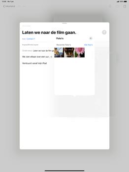 Apple iPad Pro 12.9 inch 4th generation (2020) (Model A2232) - E-mail - Hoe te versturen - Stap 14