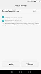 Huawei P9 - E-mail - handmatig instellen (outlook) - Stap 9