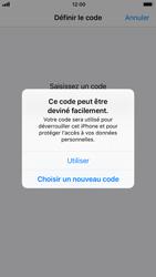 Apple iPhone 6 - iOS 11 - Sécuriser votre mobile - Activer le code de verrouillage - Étape 6