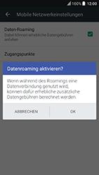 HTC U Play - Ausland - Im Ausland surfen – Datenroaming - 1 / 1
