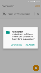 Samsung G920F Galaxy S6 - Android M - MMS - Erstellen und senden - Schritt 7
