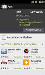 Samsung Galaxy S Advance - Apps - Installieren von Apps - Schritt 9