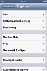Apple iPhone 3GS - MMS - Manuelle Konfiguration - Schritt 4