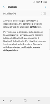 Samsung Galaxy S8 - Android Oreo - Bluetooth - Collegamento dei dispositivi - Fase 6