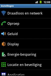 Samsung S7500 Galaxy Ace Plus - Voicemail - handmatig instellen - Stap 5