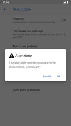 Nokia 8 - Android Pie - Rete - Selezione manuale della rete - Fase 8