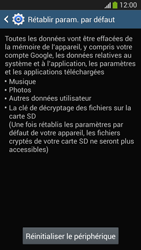Samsung SM-G3815 Galaxy Express 2 - Téléphone mobile - Réinitialisation de la configuration d