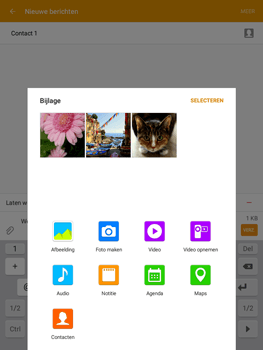 Samsung Galaxy Tab A 9.7 - MMS - Afbeeldingen verzenden - Stap 16